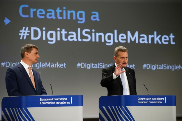 Digital Single Market Strategy at the European Commission